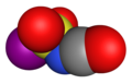 Iodosulfonyl-isocyanate-3D-vdW.png