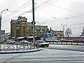 Irkutsk. February 2013. Cinema Barguzin, regional court, bus stop Volga, Diagnostic Center. - panoramio (18).jpg