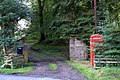 Isolated phonebox, Pearsie - geograph.org.uk - 1437455.jpg