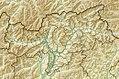 Italy Bolzano-Bozen relief location map.jpg