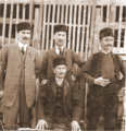 Ivan, Lazar, Dimitar and Marko Radulov 1910 Bansko.png