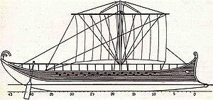 Ivlia (ship) - Image: Ivliaplan 1