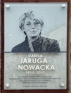Izabela Jaruga-Nowacka tablica.jpg