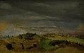 Jørgen V. Sonne - The Battle of Isted 25 July 1850. Study - KMS4160 - Statens Museum for Kunst.jpg