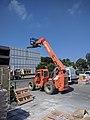JLG SkyTrak 6042 telehandler at job site in Sunnyvale, side view.jpg
