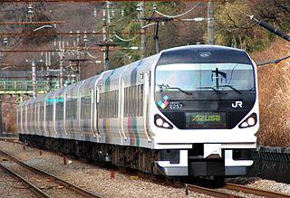 E257 series Japanese train type