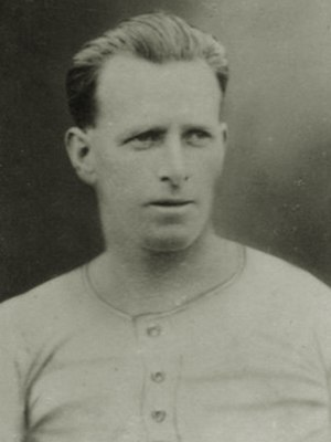 John Bethune (footballer) - Bethune while with Bristol Rovers in 1921.