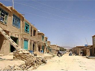 Anguri - A street in Anguri, 2006