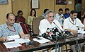 Jairam Ramesh addressing the media at the signing ceremony of the Loan Agreement between Department of Economic Affairs (DEA) and the World Bank for the assistance to National Ganga River Basin Authority (NGRBA) for.jpg