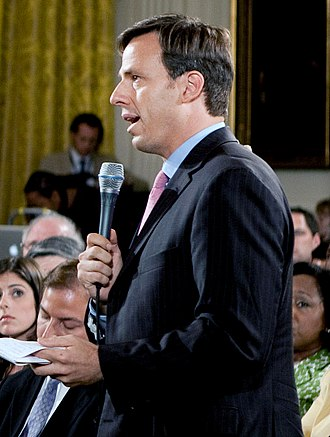 Jake Tapper - Tapper at the White House in 2009