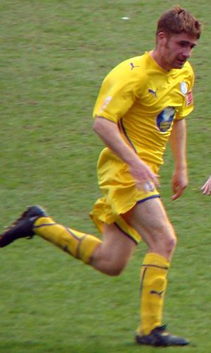James O'Connor (footballer, born 1979) - O'Connor playing for Sheffield Wednesday in 2009