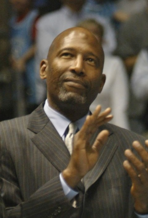 James Worthy at UNC Basketball game. February 10, 2007