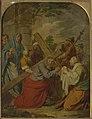Jan Jozef Verhaghen - Veronica wipes the face of Jesus.jpg