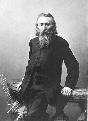 Jan Matejko - Jan Matejko, photograph from before 1883