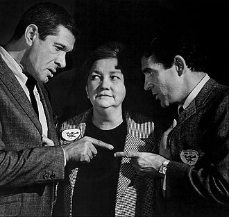"The Man from U.N.C.L.E. - Jan Murray, Patsy Kelly, and Pat Harrington Jr. in ""The Hula Doll Affair"" (1967)"