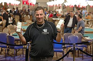 Jan Vang Sørensen - Sørensen after winning the 2005 World Series of Poker $5,000 seven-card stud event