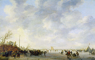 Winter Landscape with Huys te Merwede