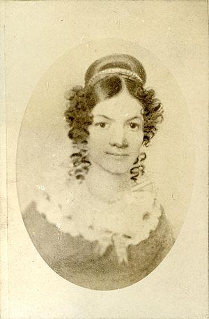 Jane Johnston Schoolcraft - Image: Jane Johnston Schoolcraft