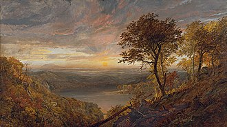 Greenwood Lake - Image: Jasper Francis Cropsey Greenwood Lake