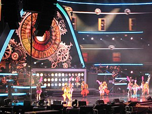 Jay Chou - Jay Chou's 3D enhanced stage at his Singapore concert in 2010, as part of his The Era World Tour