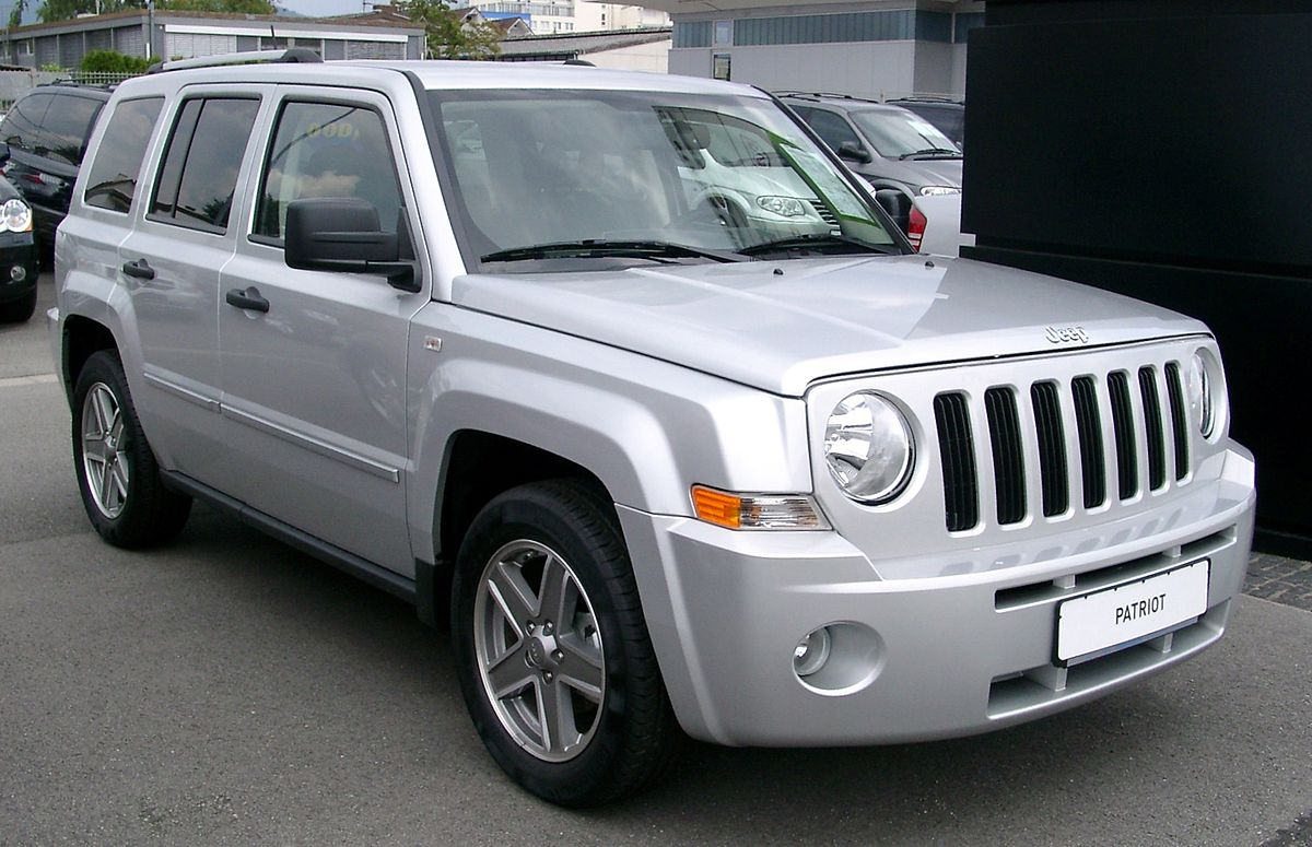 jeep patriot wikipedia. Black Bedroom Furniture Sets. Home Design Ideas