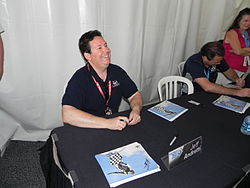 Jeff andretti at indy500 in 2012.JPG