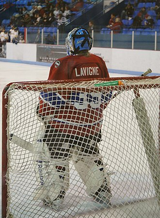 Les Canadiennes de Montreal - Jenny Lavigne, the Star's long-time starting goaltender, now serves as an assistant coach for the team