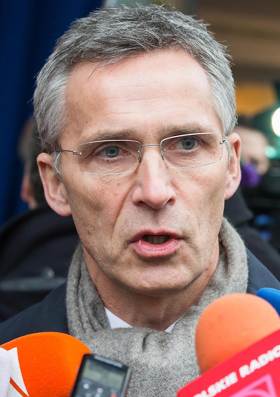 Jens Stoltenberg February 2015