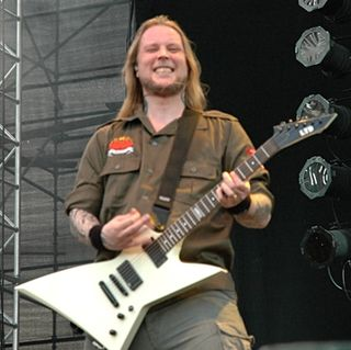 Jesper Strömblad Swedish musician