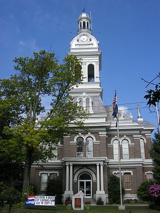 Nicholasville, Kentucky - Jessamine County Courthouse