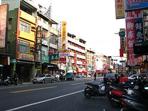 Sanmin District - Image: Jianhsing Rd