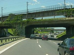 Expressways of Beijing - The Jingshi Expressway (July 2004 image)