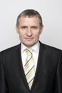 Jiří Čunek Czech minister of regional development of the CR, vice prime minister of the Czech Republic, senator of Czech Parliament and mayor