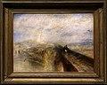 Jmw turner, pioggia, vapore e velocità, la grande ferrovia occidentale, 1844.jpg