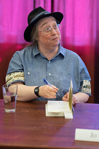 Jo Walton - Author Jo Walton at a book signing event