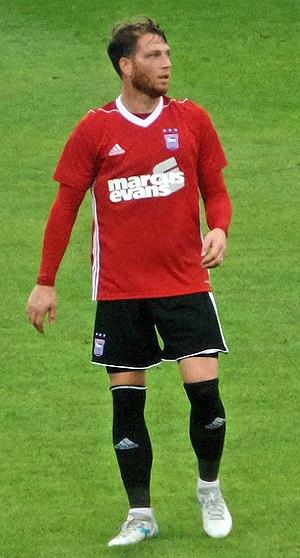 Joe Garner - Joe Garner playing for Ipswich Town in 2017.