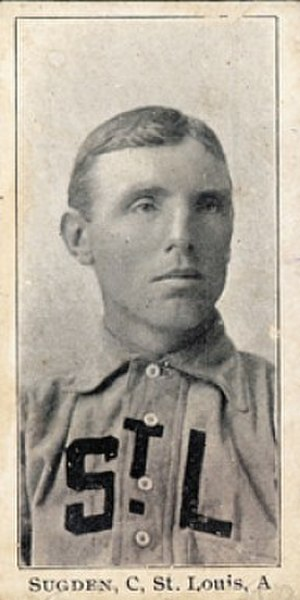 Joe Sugden (baseball) - Image: Joe Sugden baseball card