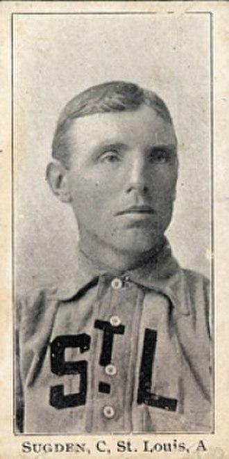 Joe Sugden (baseball) - Image: Joe Sugden baseball card