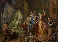 Johann Platzer - The sculptor's studio - Google Art Project.jpg