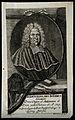 Johann Wilhelm Baier. Line engraving by W. P. Kilian, 1728. Wellcome V0000299.jpg