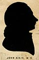 John Aikin. Silhouette. Wellcome V0000058.jpg