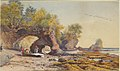 John Arthur Fraser - Coast Scene, Tide Out.jpg