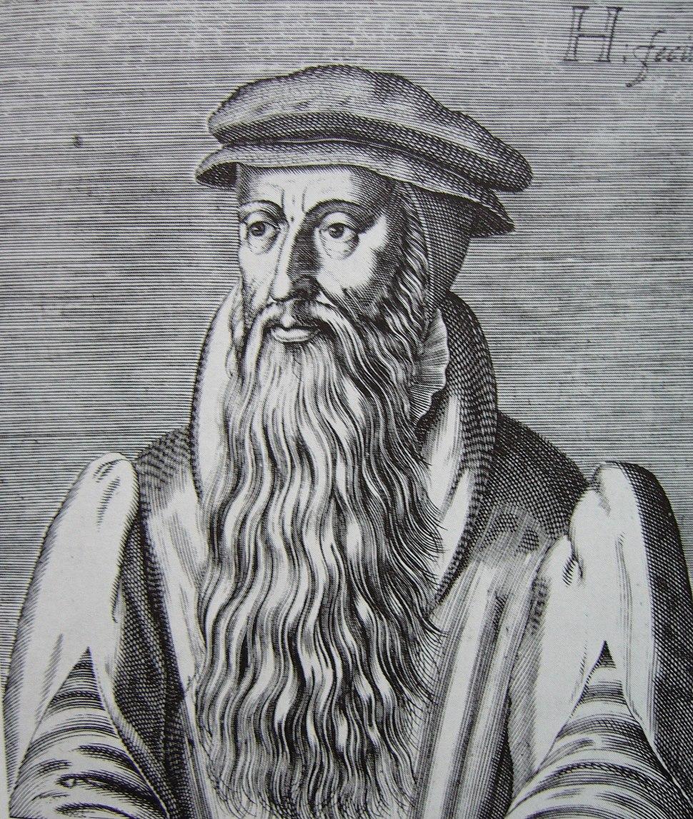 John Knox woodcut