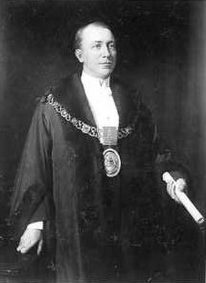 John Lavington Bonython - John Lavington Bonython, Mayor of Adelaide, ca. 1913