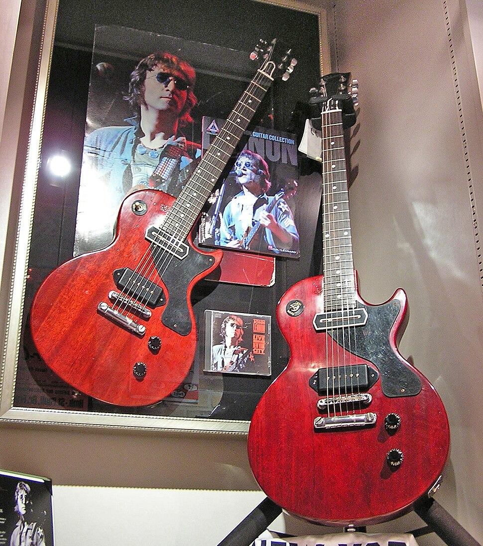 John Lennon%27s Les Paul Jr.
