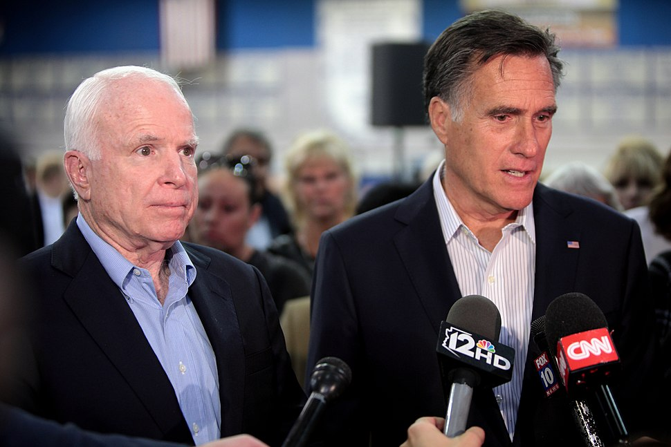 John McCain %26 Mitt Romney (23342266429)