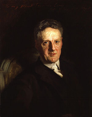 John Seymour Lucas - John Seymour Lucas, by John Singer Sargent, 1905 (NPG)
