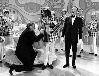 John Wayne And Tiny Tim Helped Laugh In Celebrate Its 100th Episode 1971