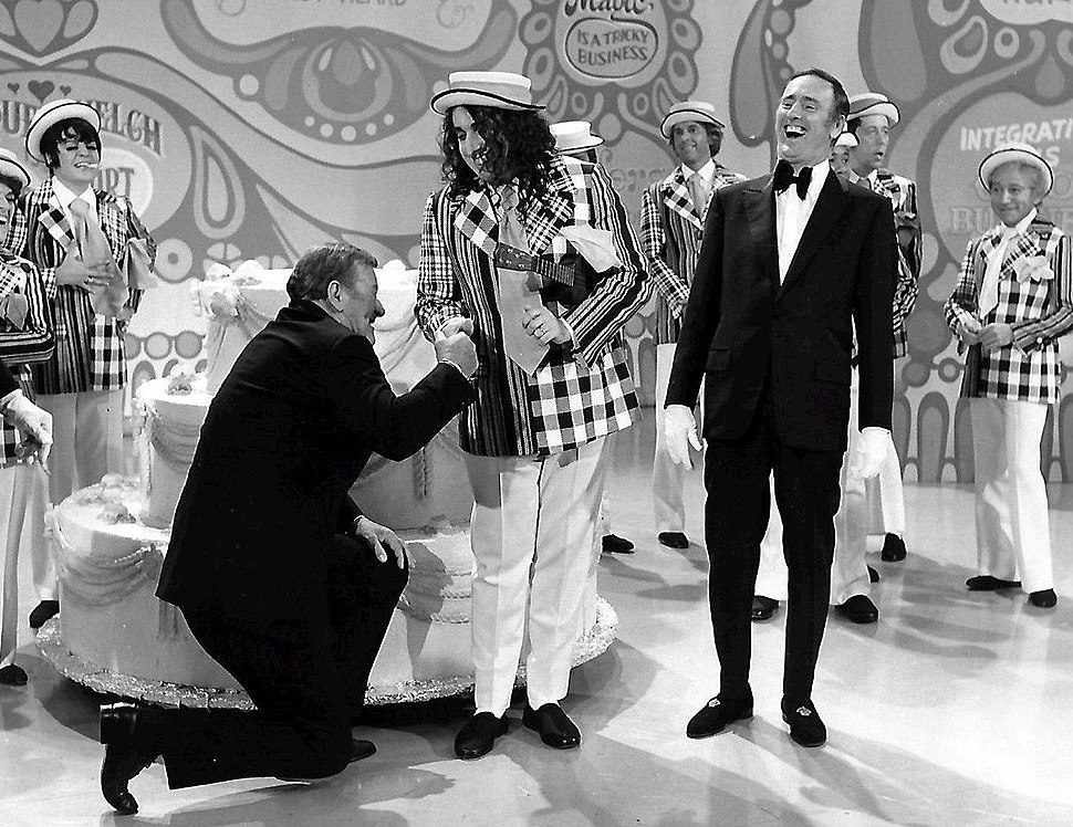 John Wayne Tiny Tim Laugh In 1971