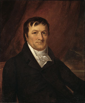John Jacob Astor - John Jacob Astor portrait by John Wesley Jarvis, circa 1825
